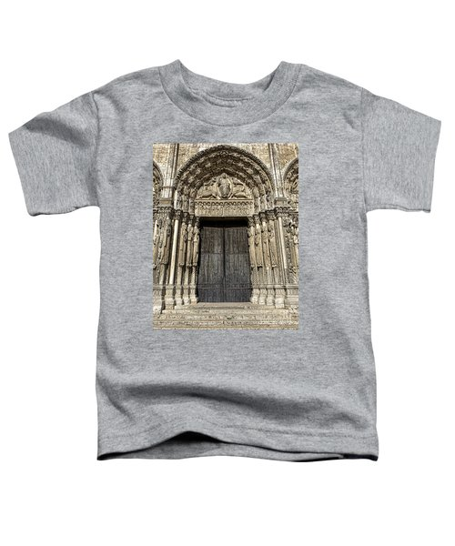 The Royal Portal At Chartres Toddler T-Shirt