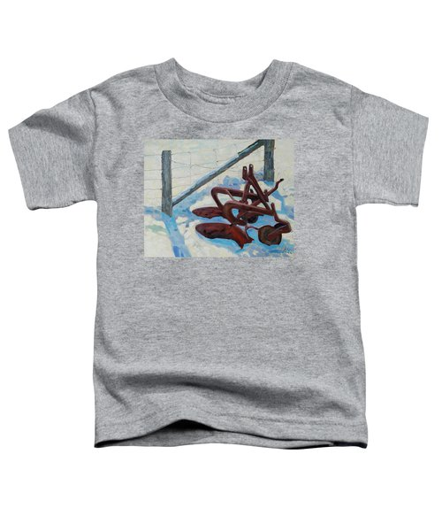 The Snow Plow Toddler T-Shirt