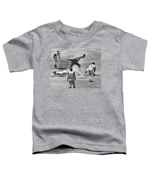 The Umpire Calls It Safe Toddler T-Shirt