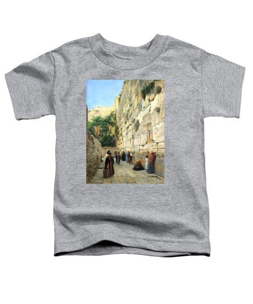 The Wailing Wall Jerusalem Toddler T-Shirt