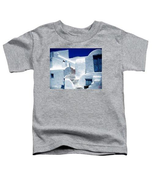 Thirasia Island Ancient House Near Santorini Greece Toddler T-Shirt