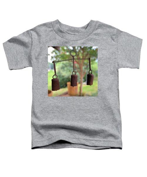 Three Bells - Square Toddler T-Shirt