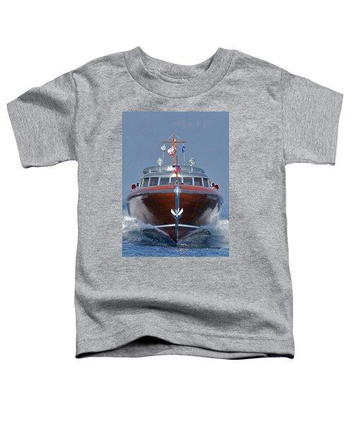 Thunderbird Yacht Toddler T-Shirt