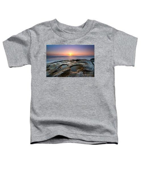 Tide Pool Sunset Toddler T-Shirt
