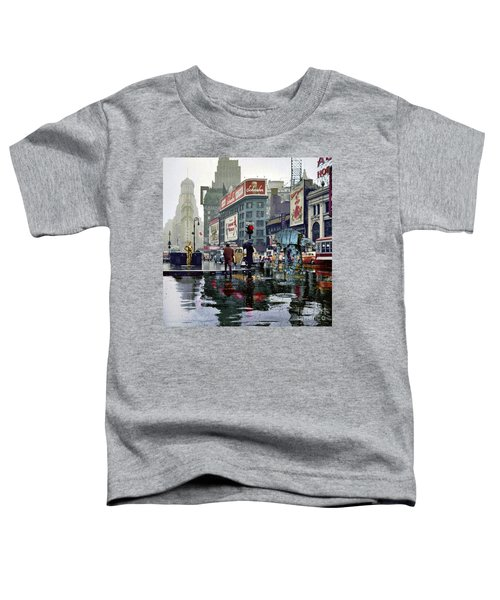 Times Square 1943 Reloaded Toddler T-Shirt