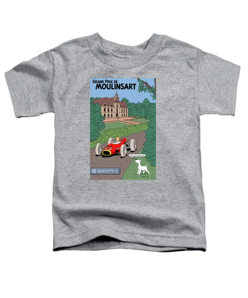 Tintin Grand Prix De Moulinsart 1965  Toddler T-Shirt