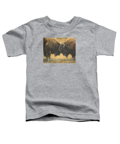 Titans Of The Plains Toddler T-Shirt