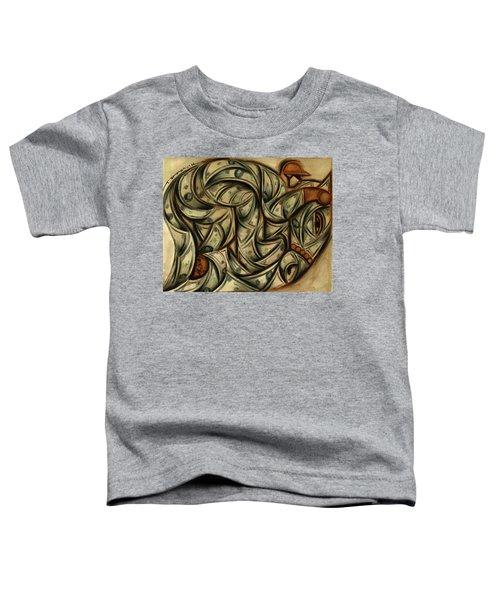 Tommervik Horse Racing Betting Art Print Toddler T-Shirt