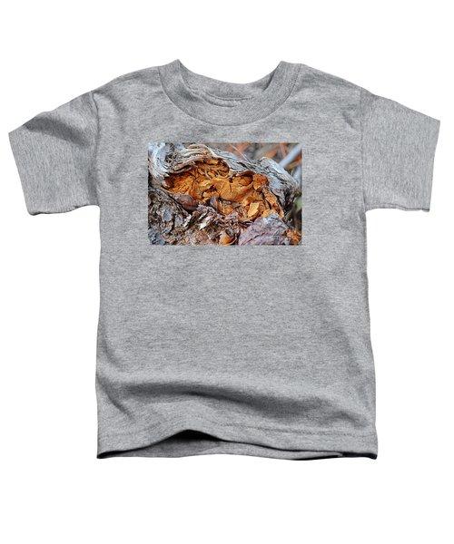 Torn Old Log Toddler T-Shirt