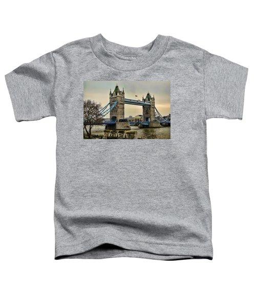 Tower Bridge On The River Thames Toddler T-Shirt