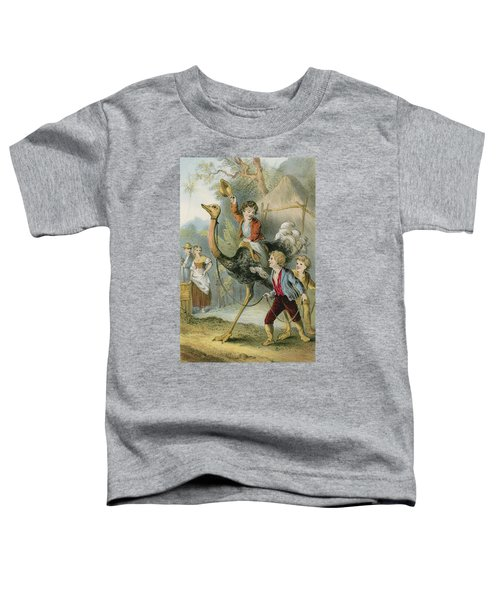 Training The Ostrich Toddler T-Shirt