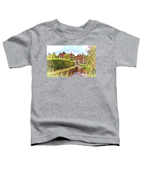 Tranquil Stream Lacock Toddler T-Shirt