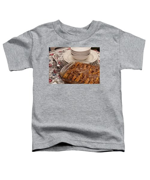 Tray Of Baked French Toast Toddler T-Shirt