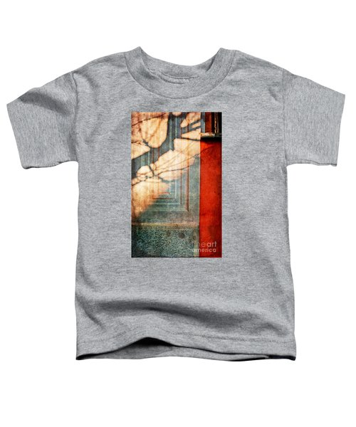 Tree Branches Shadow On Wall Toddler T-Shirt