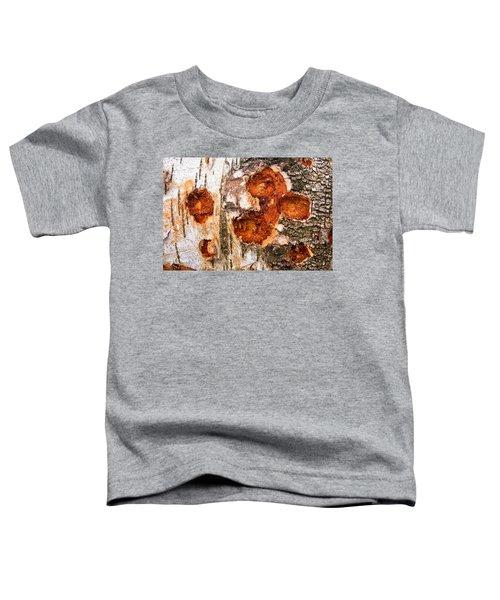 Tree Trunk Closeup - Wooden Structure Toddler T-Shirt