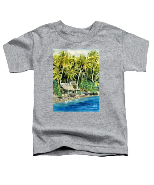 Tropical Island  Toddler T-Shirt