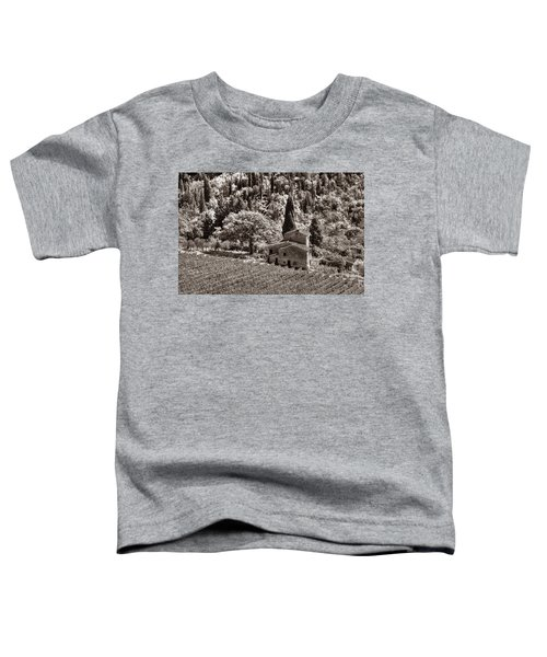 Tuscan Vinyard Toddler T-Shirt