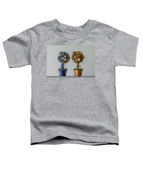 Twin Trees Toddler T-Shirt
