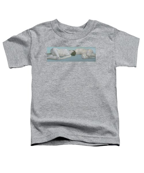 Two Figures Lying Toddler T-Shirt