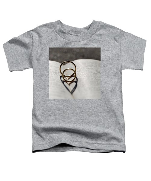 Two Hearts As One Toddler T-Shirt