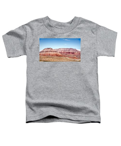 Two Layered Mountains Toddler T-Shirt
