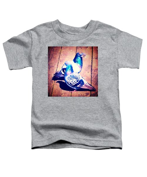 Two Pigeons And A Ghost Toddler T-Shirt