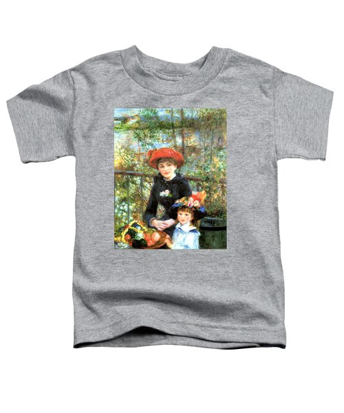 Two Sisters On The Terrace Toddler T-Shirt