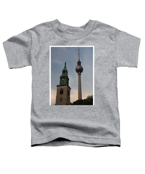 Two Towers In Berlin Toddler T-Shirt