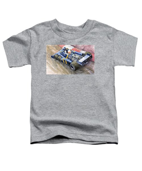 Tyrrell Ford Elf P34 F1 1976 Monaco Gp Jody Scheckter Toddler T-Shirt