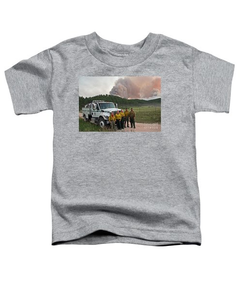 Umpqua Engine 25 On Myrtle Fire Toddler T-Shirt