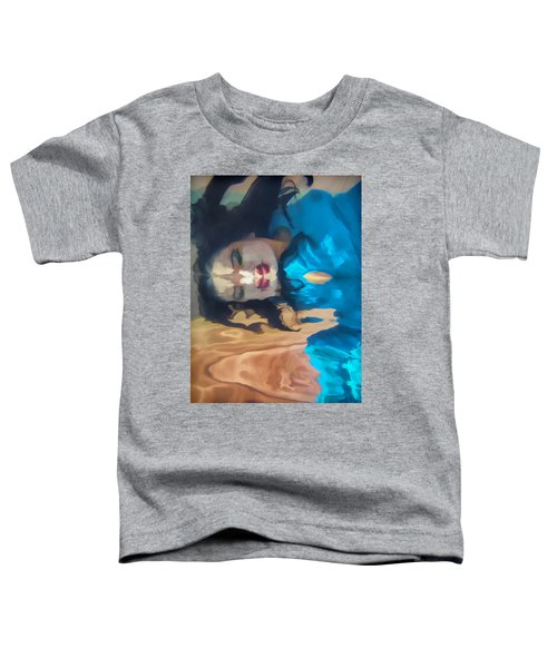Underwater Geisha Abstract 1 Toddler T-Shirt