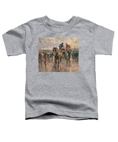 Unloading The Catch Toddler T-Shirt