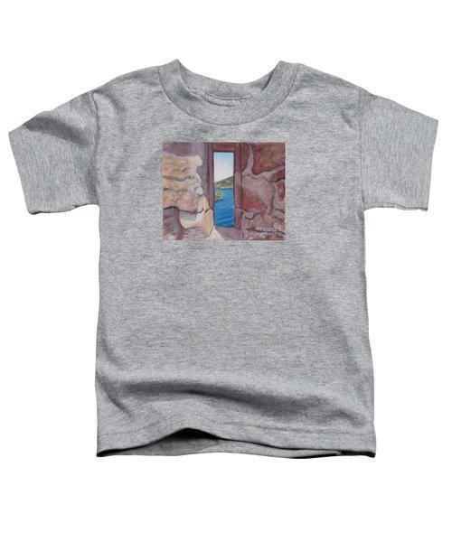 Archers' Window Urquhart Ruins Loch Ness Toddler T-Shirt