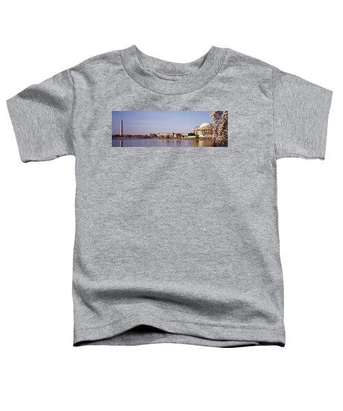 Usa, Washington Dc, Washington Monument Toddler T-Shirt by Panoramic Images