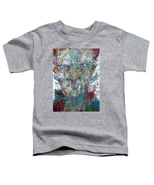 Vampire - Oil Portrait Toddler T-Shirt