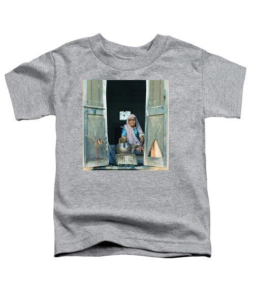 Varanasi Water Seller Toddler T-Shirt