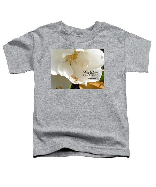 Victor Hugo 2 Toddler T-Shirt