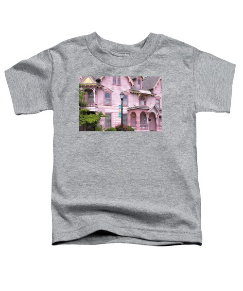 Victorian Pink House - Milford Delaware Toddler T-Shirt