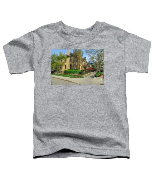 D47l-15 Victorian Village Photo Toddler T-Shirt