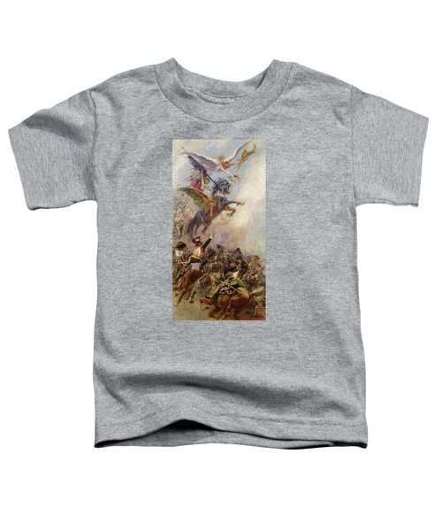 Victory Toddler T-Shirt by Jean-Baptiste Edouard Detaille