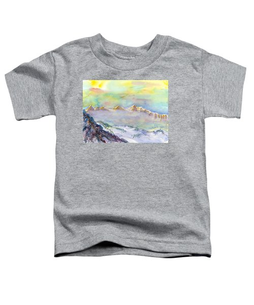 View From Snowbird Toddler T-Shirt