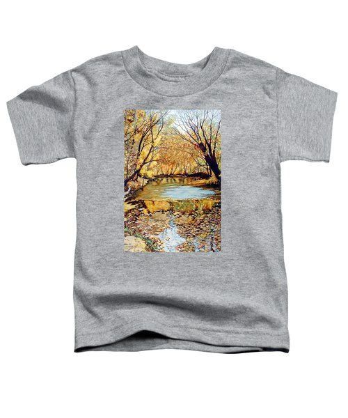 View From The Covered Bridge Toddler T-Shirt