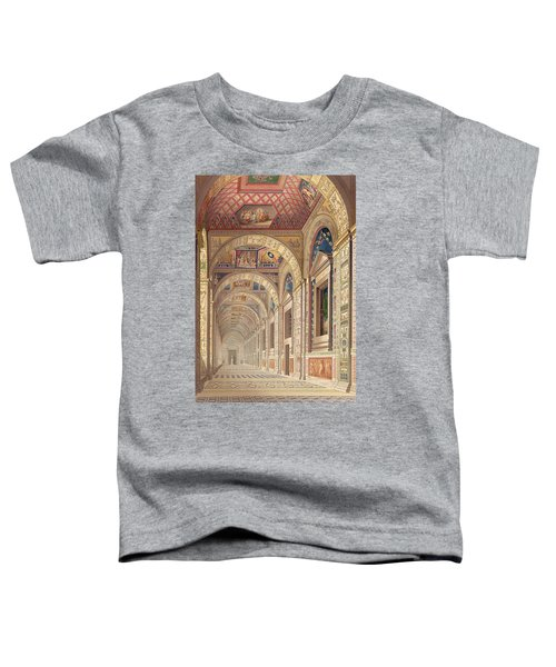 View Of The Second Floor Loggia Toddler T-Shirt