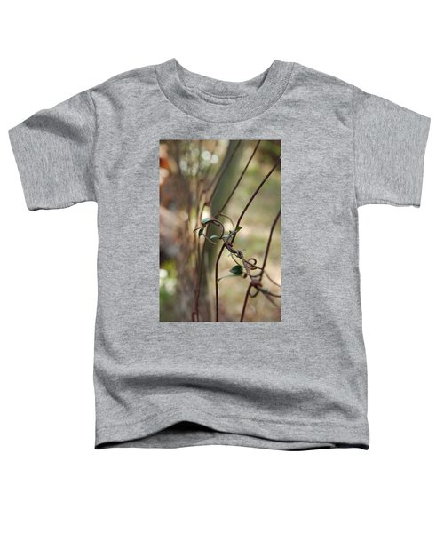 Vine On Rusted Fence Toddler T-Shirt