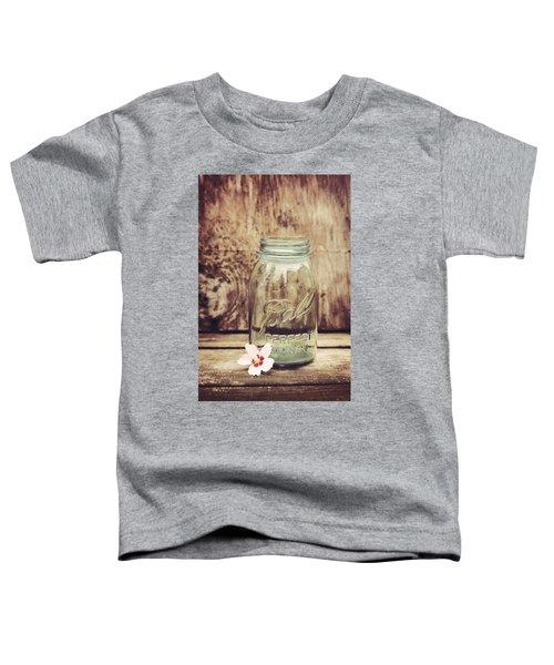 Vintage Ball Mason Jar Toddler T-Shirt