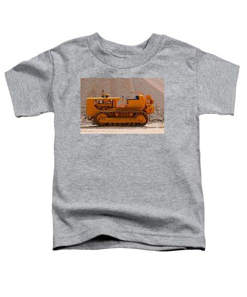 Vintage Bulldozer Toddler T-Shirt