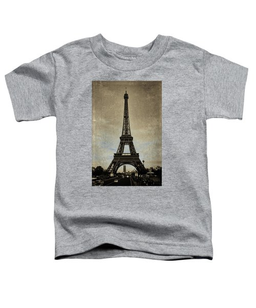Vintage Eiffel Bronze Toddler T-Shirt