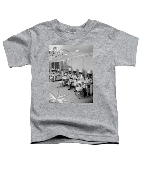 Vintage Hair Salon 2 Toddler T-Shirt