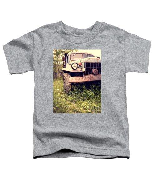 Vintage Old Dodge Work Truck Toddler T-Shirt