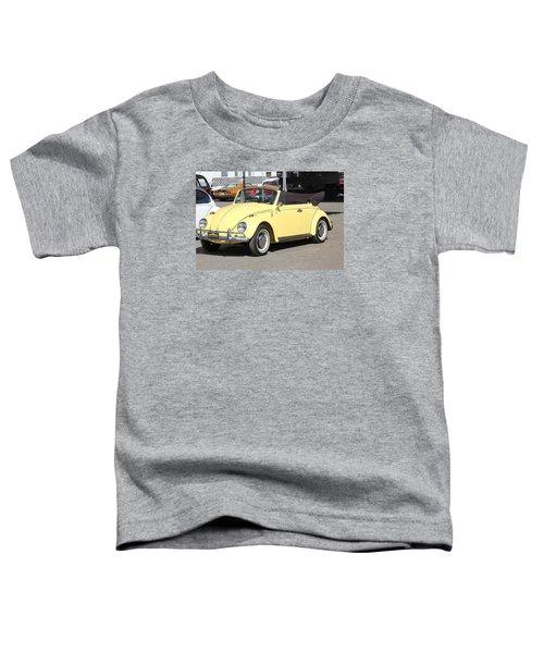 Volkswagen Convertible Vintage Toddler T-Shirt